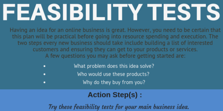 Feasibility Test Feature