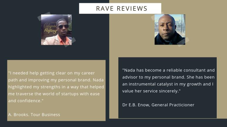 Personal branding testimonials