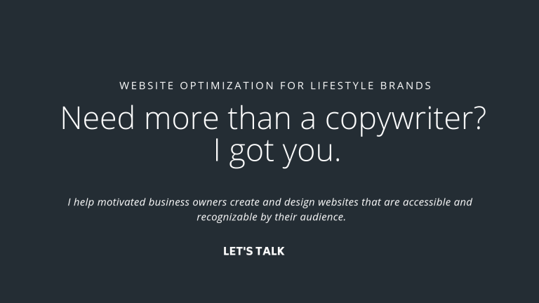 more than a copywriter image